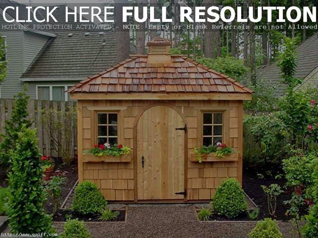 Garden Shed Ideas | Small Garden Ideas