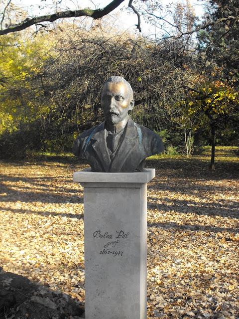 Pepi gróf, a park alapítója