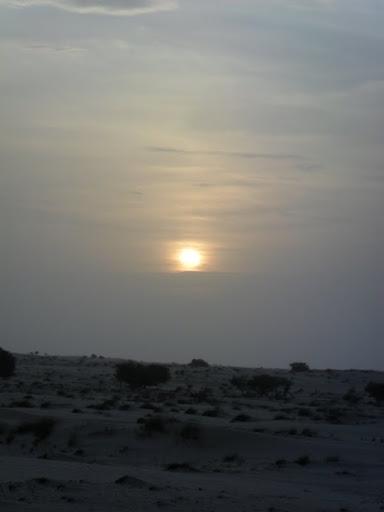 slnko rýchlo zapadá
