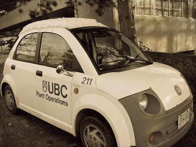 ServicefromHeart how to be creative UBC Mr Bean car