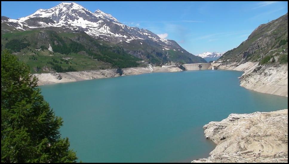 Col de l 39 iseran 9 juin 2012 onekite - Lac du chevril ...