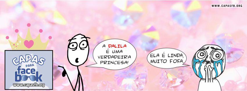 Capas para Facebook Dalila
