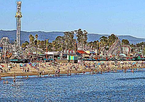 Santa Cruz Beach Boardwalk Best Pictures
