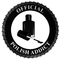 official polish addict badge