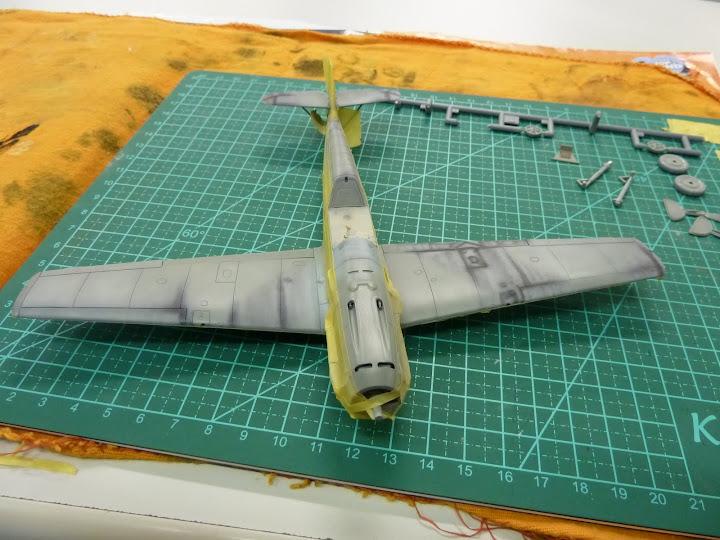 Bf-109 E-3 Tamiya 1/48 - Reforma pintura P1020477