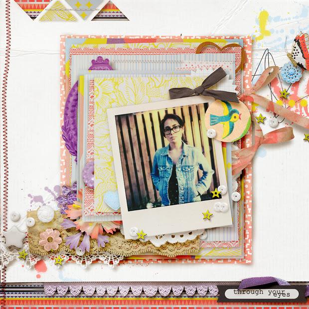 Through Your Eyes // 12x12 // Dreamweaver by Allison Pennington + Studio Basic