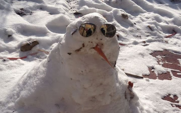 Snowman is cool.