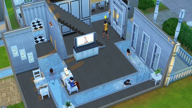 De sims 4 producerblogs pingu ntech for Pool designs sims 4