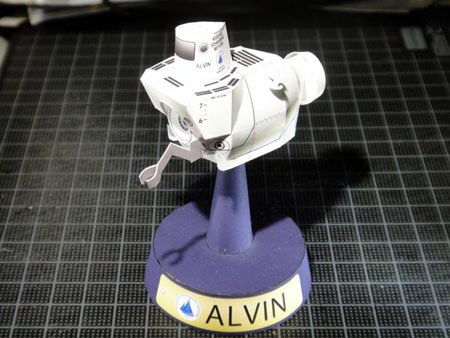 Alvin Papercraft Submersible