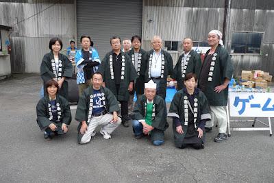 2015年第6回小鹿商店会秋祭り会員集合写真