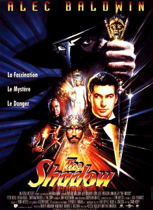 Poster Of The Shadow (1994) Full Movie Hindi Dubbed Free Download Watch Online At Alldownloads4u.Com