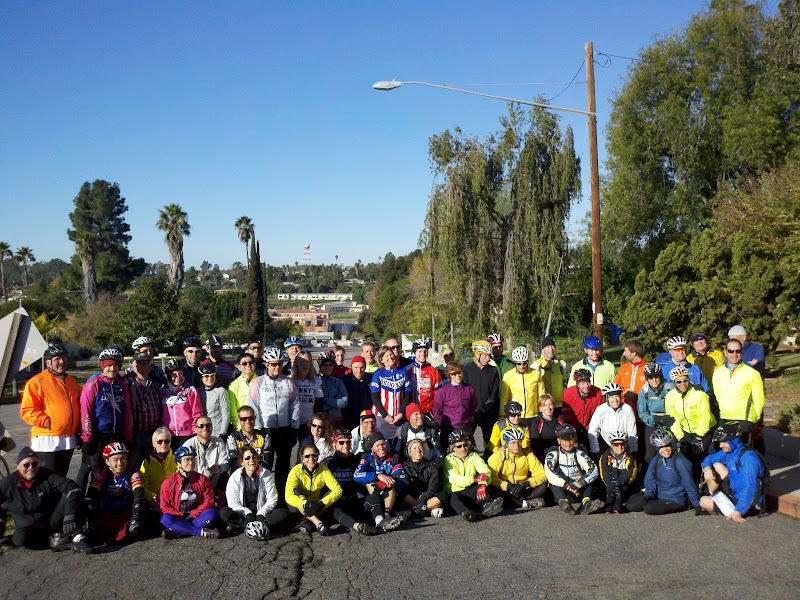 San Diego Christmas Ride • The Group in Fallbrook