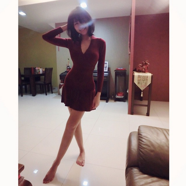 馬來西亞夢幻正妹「明禎」細腰+美腿+巨乳 網友讚極品女神 三圍 個人資料 臉書