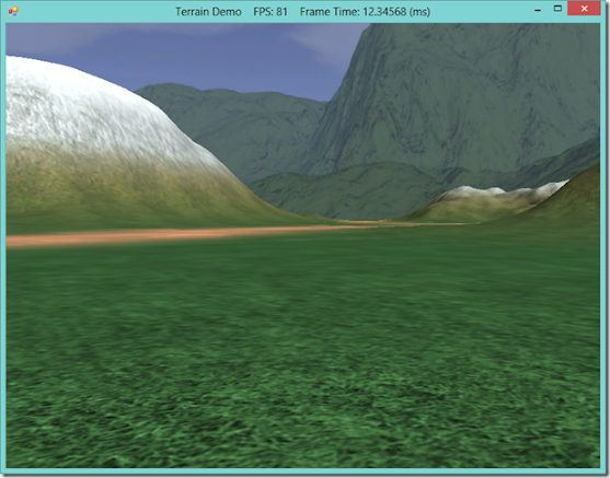 DirectX10-compatible Terrain rendering with LOD