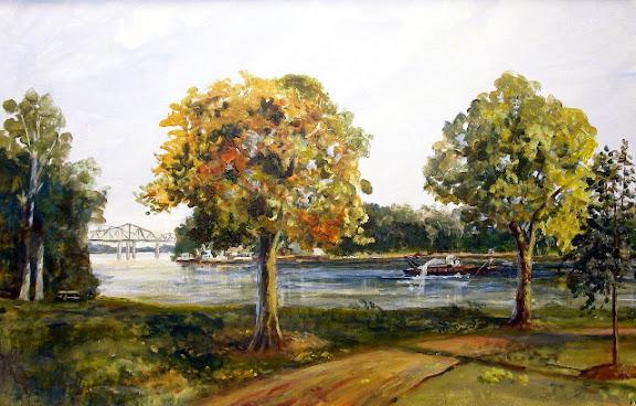 """Frontier Park"" by artist Ken Farris."