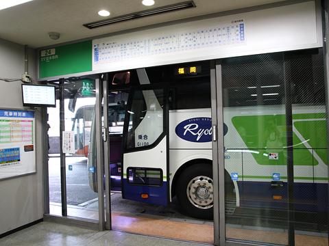 中国バス「広福ライナー」 G1106 博多BT到着