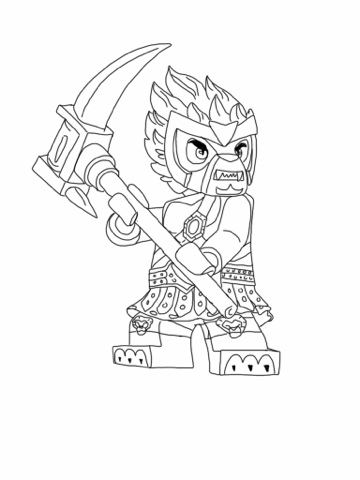Lego Chima Coloring Pages Fantasy Coloring Pages