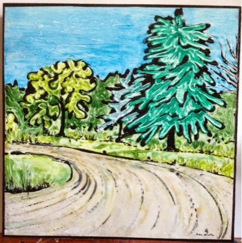 painting Ontario landscape Robin Baratta artist