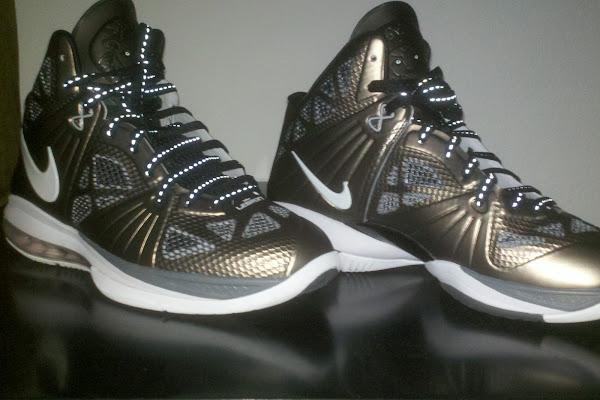 Detailed Look at Nike LeBron 8 PS 8220Gun Metal8221 PE