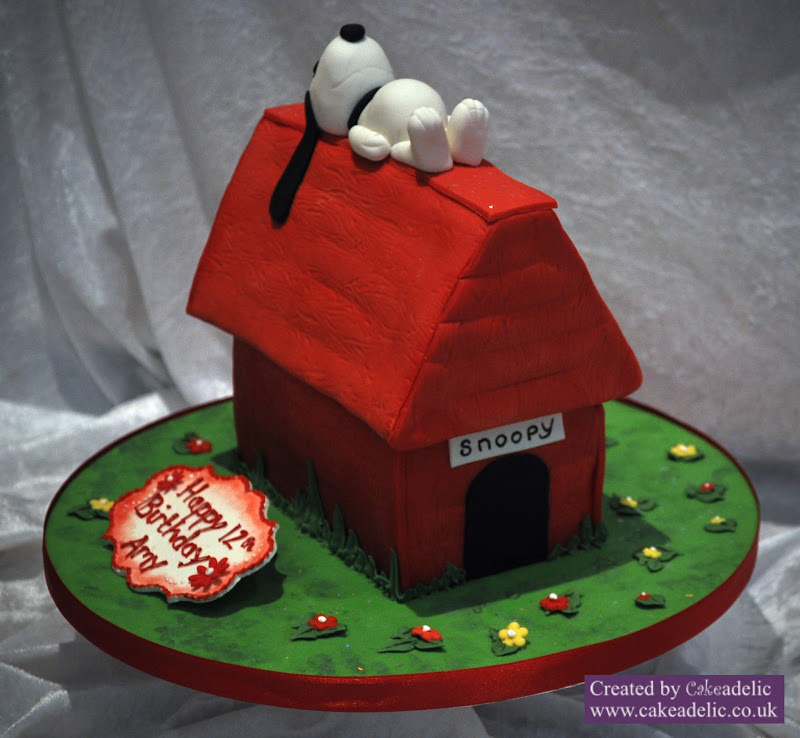 Snoopy Birthday Cake We Love Snoopy So Does Amy So We Made Her A