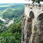 見所満載中世の要塞・ケーニッヒシュタイン要塞