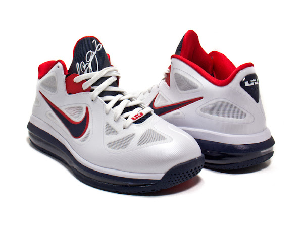 Release Reminder Nike LeBron 9 Low 8220USA Basketball8221