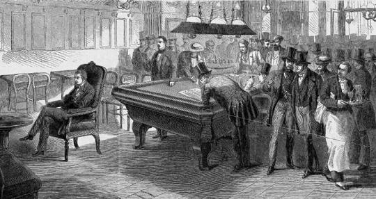 1858 Morphy held a blindfold exhibition against the eight strongest players in Paris
