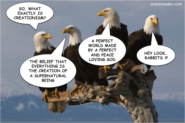 Eagles Discussing Creationism