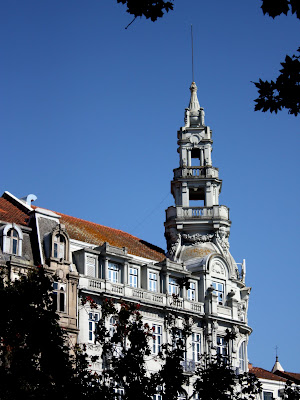 Building in Porto Portugal