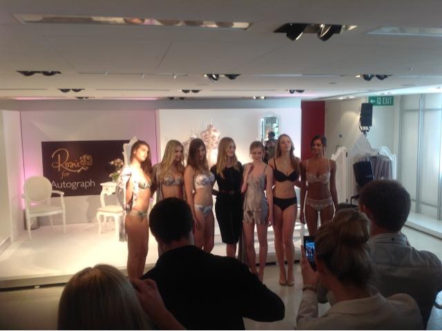 M&S Lingerie launch