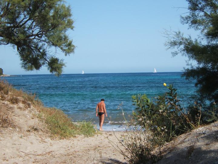 Strand in Costa de los Pinos/ Costa dels Pins, Mallorca