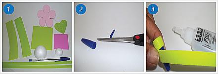 caneta tesoura cola