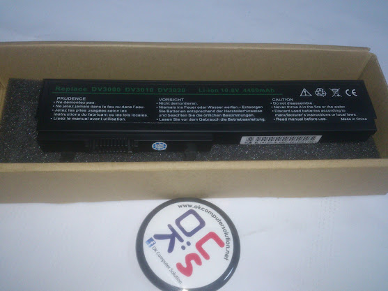 New Battery For HP Pavilion DV3100