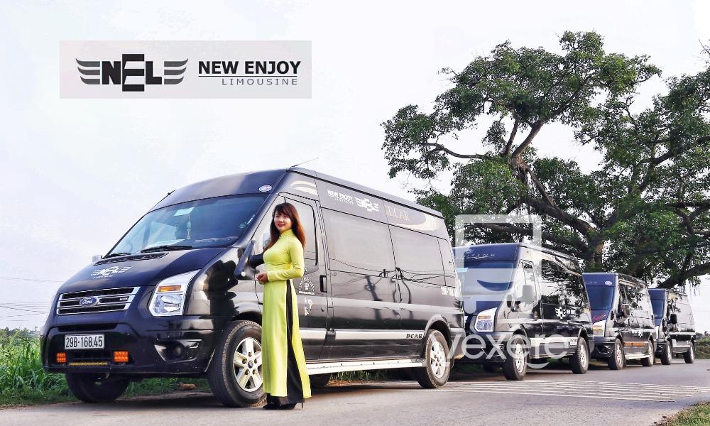 Xe limousine đi Sapa từ Hà Nội: New Enjoy
