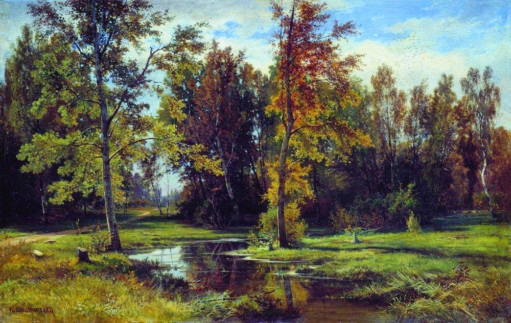 Ivan Shishkin - Birch forest