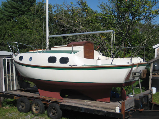 Sailing Rayner's Boats: Doug Wollmar Restores His Westerly Nomad…