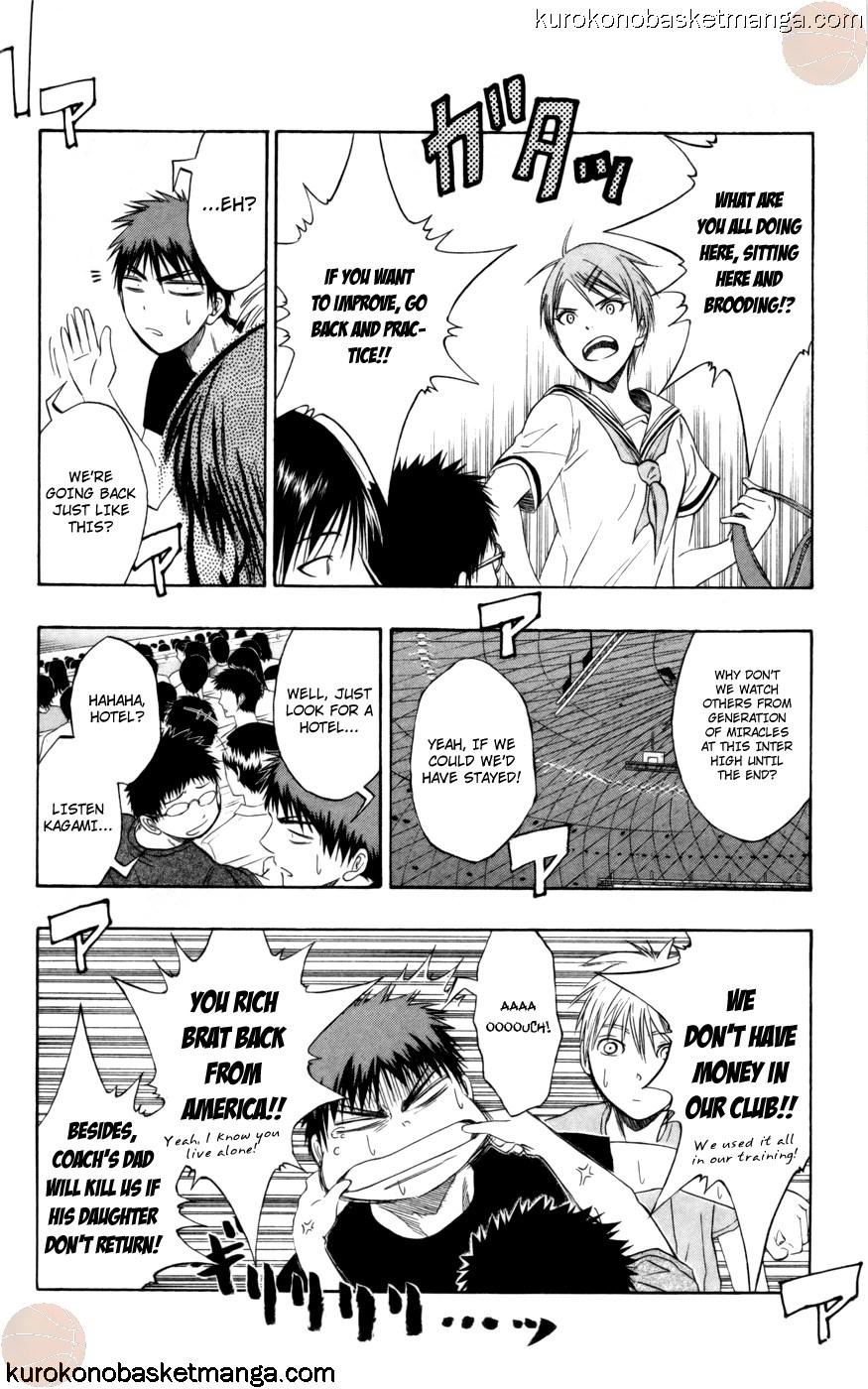 Kuroko no Basket Manga Chapter 73 - Image 16