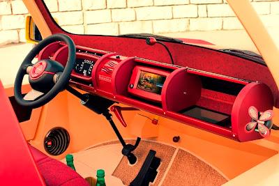 Бамбуковый электромобиль Rinspeed BamBoo