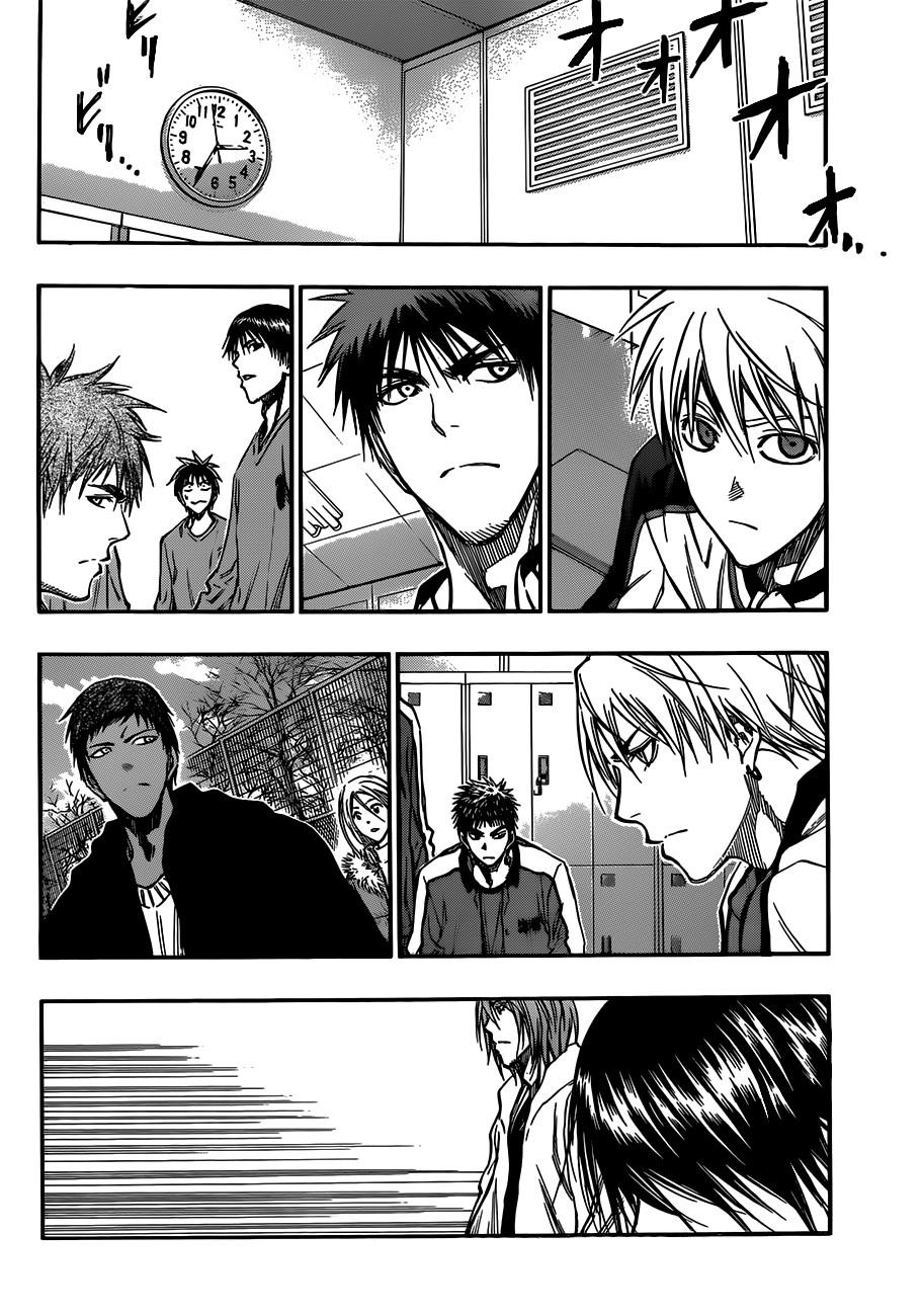 Kuroko no Basket Manga Chapter 175 - Image 16