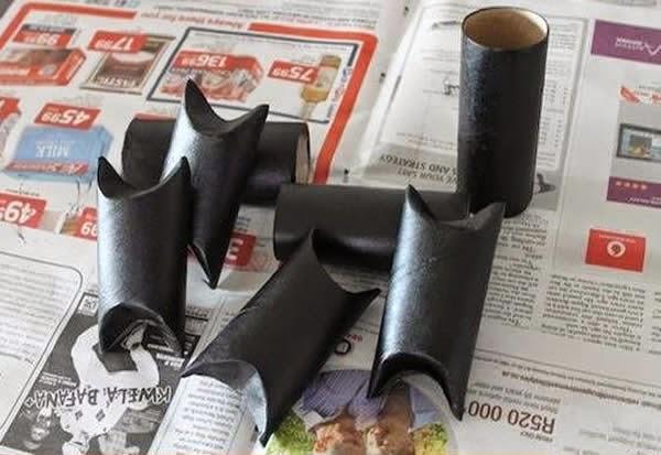 Morcego - papelão