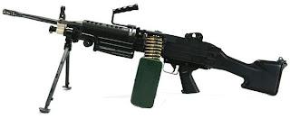ENSIKLOPEDIA SENJATA API: Senjata Mesin Ringan FN Minimi M249