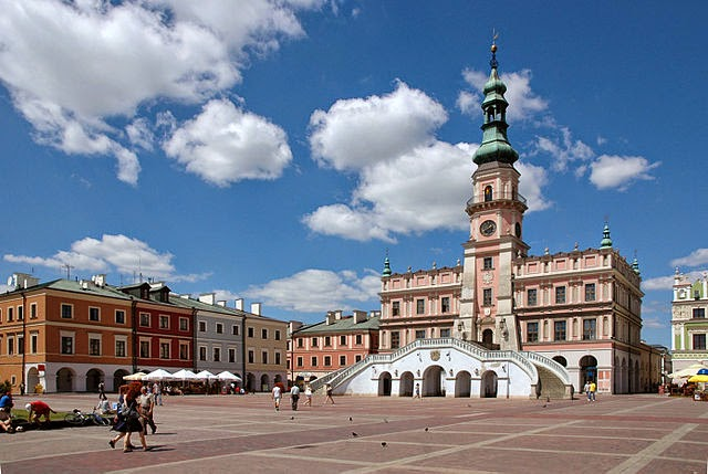 UNESCO World Heritage site of Zamosc