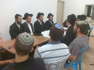 ערב התוועדות בשלום על ישראל ביריחו