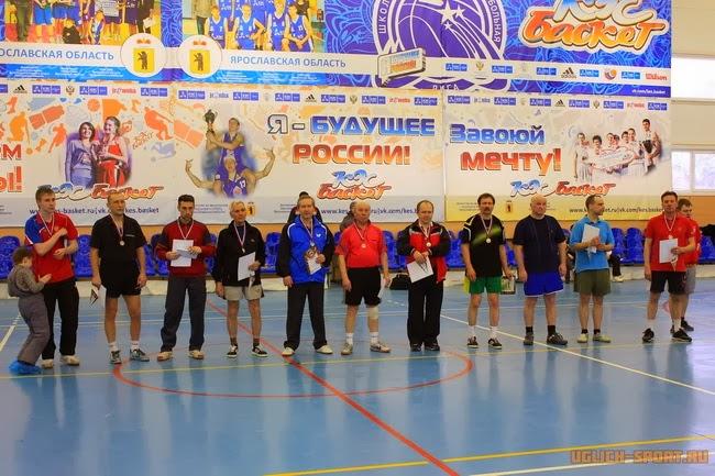 Победители межрегионального турнира по настольному теннису посвященного Дню Защитника Отечества в 2014 году в Угличе