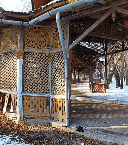 colonada parc buzias iarna