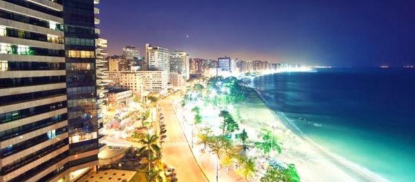 Férias em Fortaleza, Ceará, Brasil