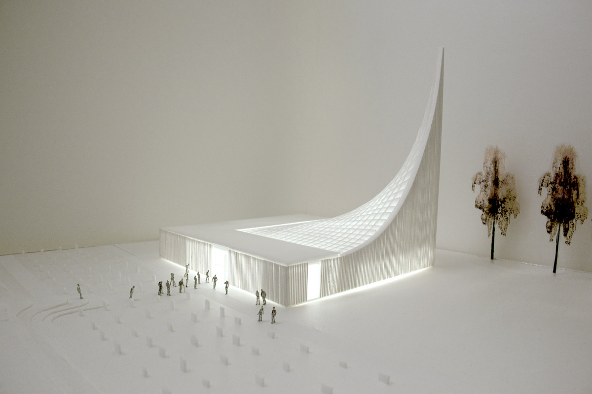 Skyscape – Church Competition Entry design by WE Architecture