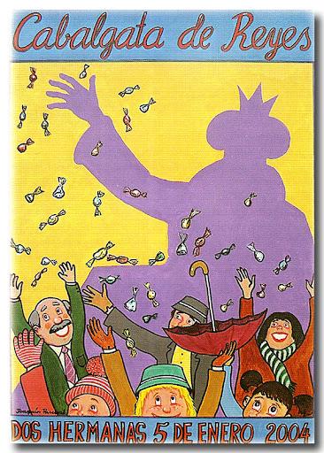 Cartel Cabalgata 2004, autor: Joaquín Pascual