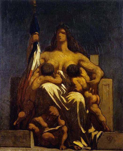Honoré Daumier - République