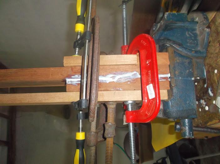 Construção inspirada Les Paul Custom, meu 1º projeto com braço colado (finalizado e com áudio) DSCF0524